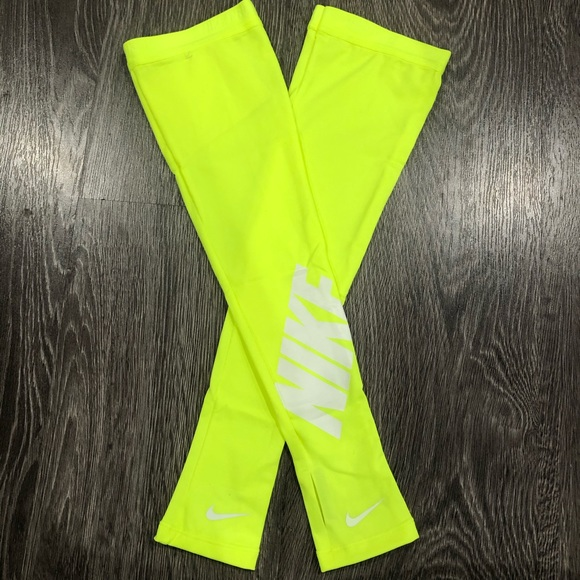 Nike Other - Limited Edition Volt Nike Pro Angle Graphic Sleeve